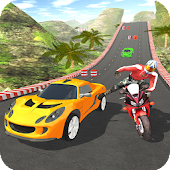 Tải Game Car vs Bike Racing