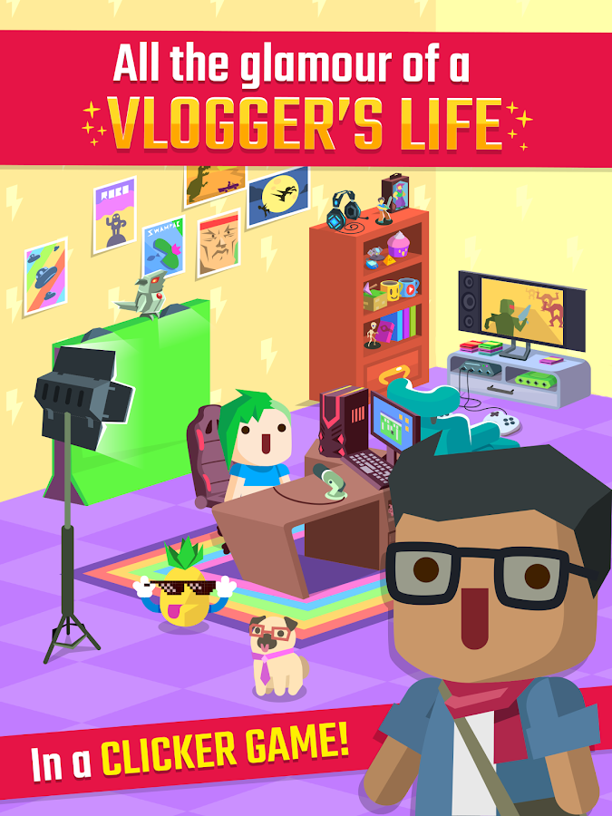 Vlogger Go Viral - Tuber Game- screenshot