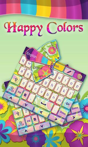 Happy Colors GO Keyboard