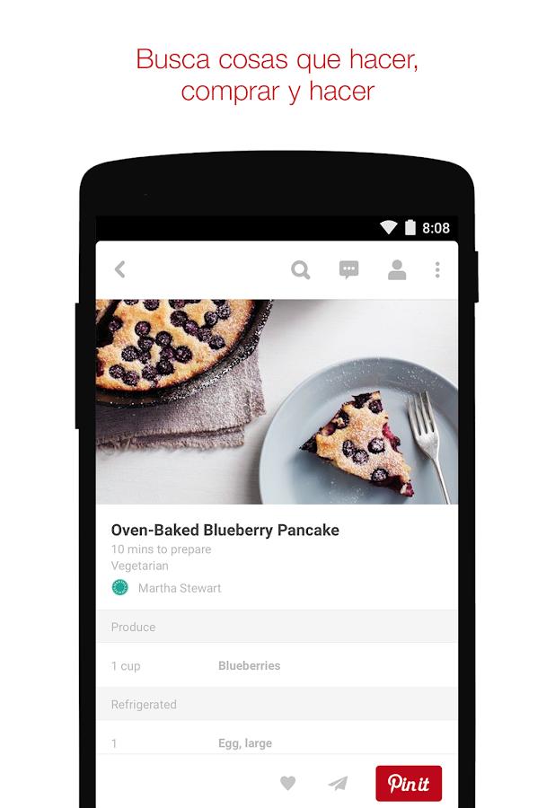 Pinterest - screenshot