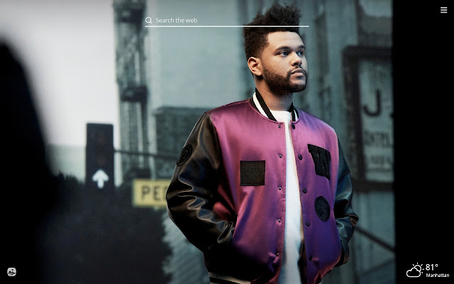 The Weeknd HD Wallpapers New Tab Theme