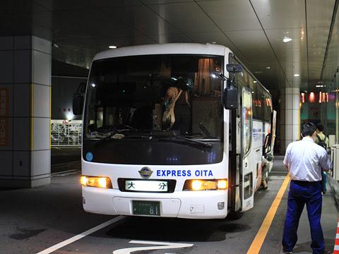 大分バス「トロピカル号」 12767 鹿児島中央駅前改札中