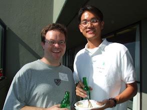 Photo: David and Choong