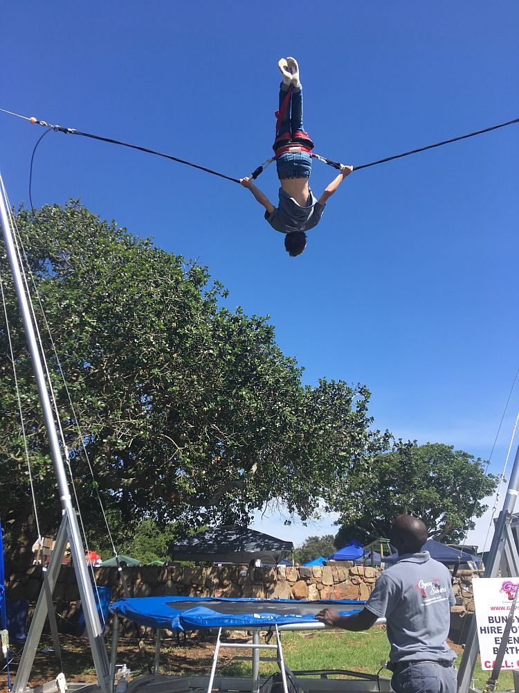 Gypsey Events plans to bring the Bungy Bouncer to the Uitenhage market on February 4