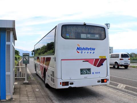 西鉄高速バス「フェニックス号」 6015 リア