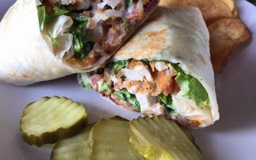 Crispy Chicken Bacon Ranch Wrap