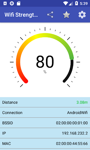 Screenshot for Wifi Strength Meter Pro in United States Play Store