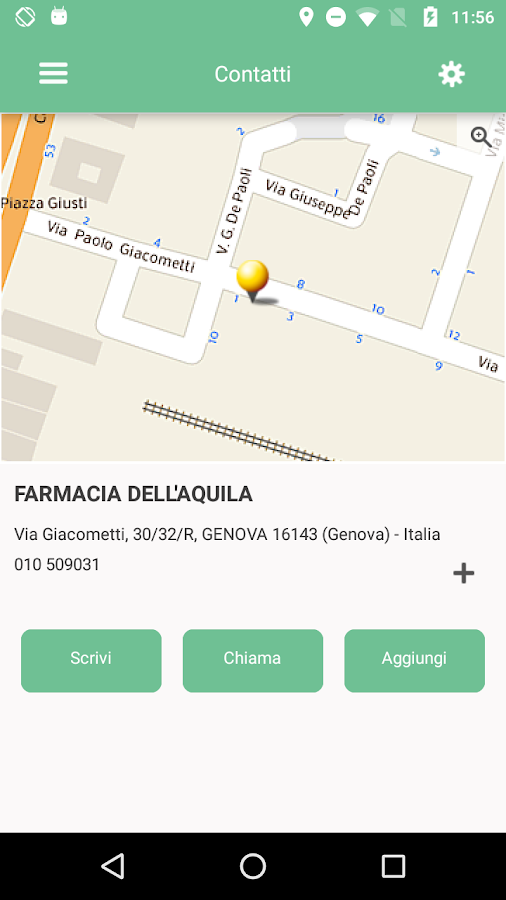 Farmacia dell'Aquila- screenshot