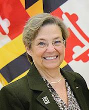Photo: Keynote speaker was Maryland Army National Guard Brigadier General (Retired) Annette M. Deener '75