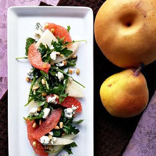 Asian Pear And Arugula Salad