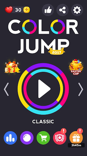 Color Jump 2017: Free Game Screenshot