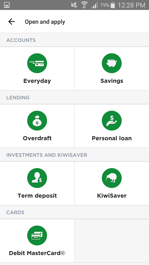 The Co-operative Bank (NZ)- screenshot