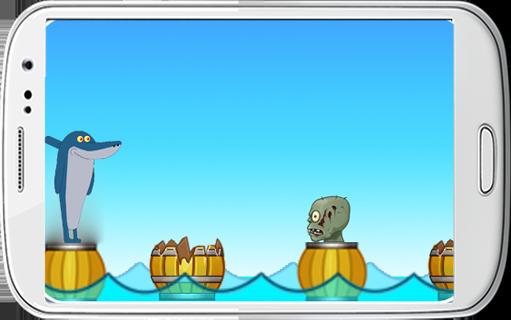 Zig Zombie and Sharko Rush - screenshot