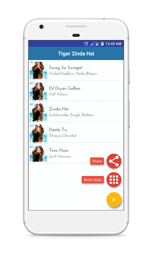 Tiger Zinda Hai Lyrics - Android Apps on Google Play