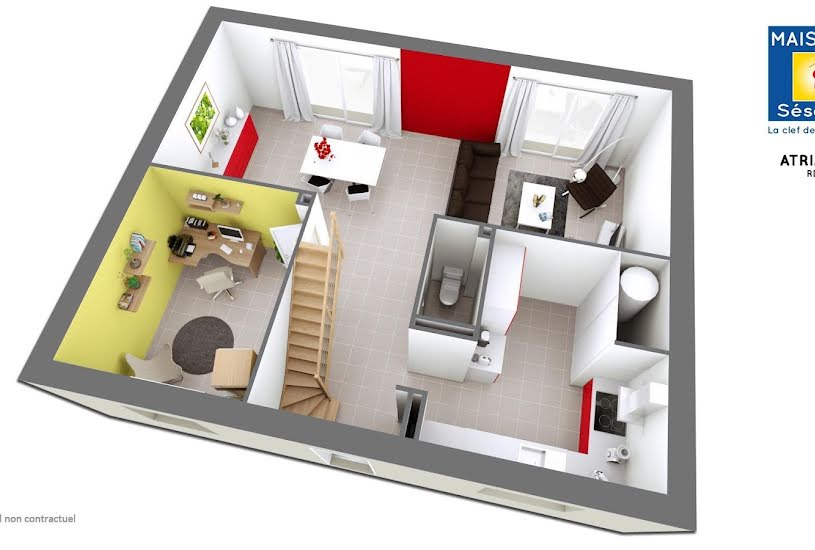 Vente Terrain + Maison - Terrain : 400m² - Maison : 125m² à Longperrier (77230)