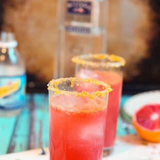 Blood Orange Gin Fizz #SundaySupper.