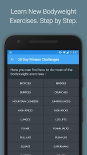 30 Day Fitness Challenges Screenshot 5