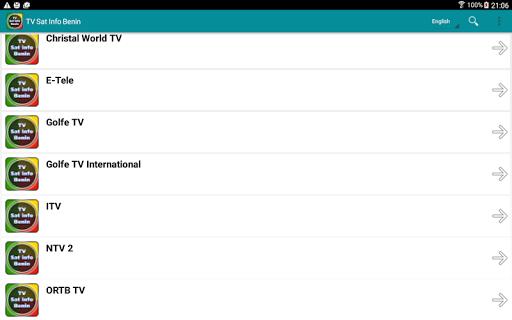 玩媒體與影片App|テレビ衛星情報ベニン免費|APP試玩