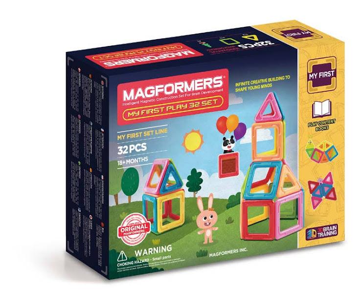 Contenido de Magformers® My First Play Set 32