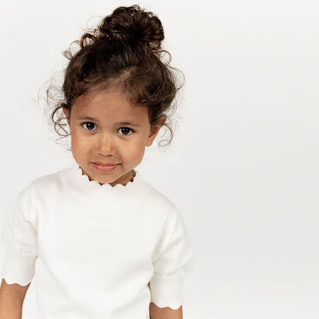 Natalia - Knitted top for children
