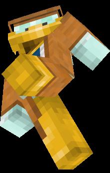 Donald Duck Detektiv Skin für Minecraft Java