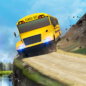 School Bus: Up Hill Driving