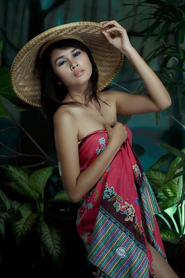 My Village Girl by Mulia Aarr - People Fine Art ( potrait, model, fashion, girl, art, human )