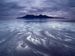 Photo: Isle of Eigg, Scotland  What had looked like a dull morning turned into the most spectacular performance of light that I have seen for many years. The short series of images from that day here:http://landandcolors.com/isle-of-eigg-blessed-with-light/  Enjoy!