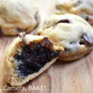 Oreo Truffle Stuffed Chocolate Chip Cookies Recipe