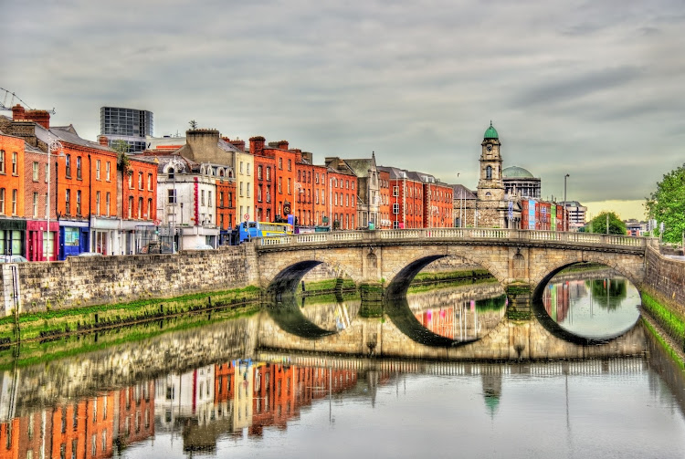 A view of Mellows Bridge in Dublin, Ireland, one of the European countries South Africans don't need a visa to visit, according to the 2018 Henley Passport Index.