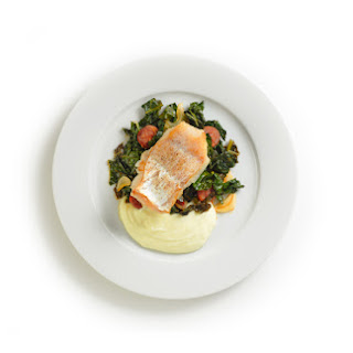 Pan-Seared Hake with 