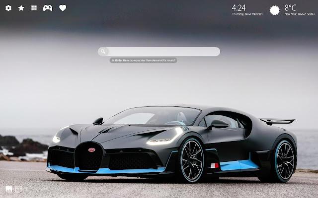 Bugatti Wallpaper Hd 4k Background Theme Chrome Web Store