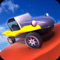 Mini car racing: Hot wheels icon