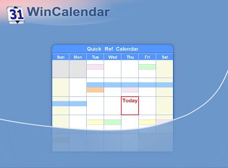 Ref Holiday Calendar