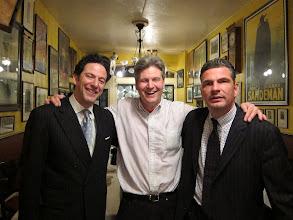 Photo: John Pizzarelli, Jim Wadsworth & Martin Pizzarelli (photo:  Bruce Hennes)