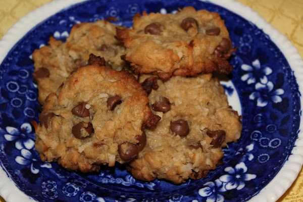 Coconut Chocolate Chip Cookies Recipe