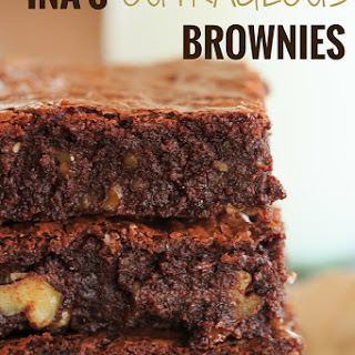 Ina's Outrageous Brownies