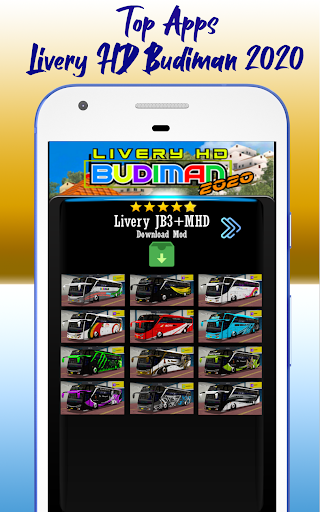 Livery HD Budiman 2020 1.0 screenshots 4