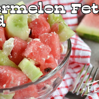 Watermelon Feta Salad.