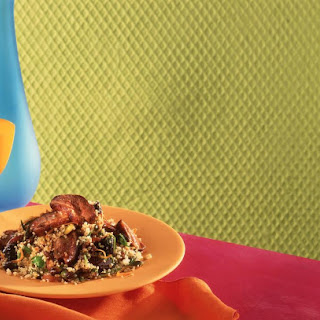 Pan-Fried Duck with Herbed Couscous.