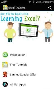 Excel Training - náhled