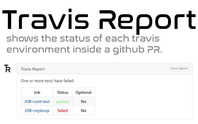 Travis Report