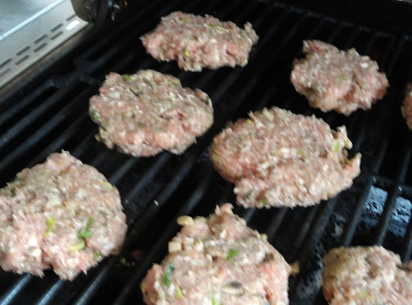 Cook patties on medium high heat on a grill or on a grill pan....