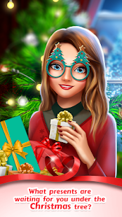 Love Story Games: Teen Christmas Romance 💑 Screenshot