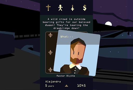 Reigns: Her Majesty - screenshot