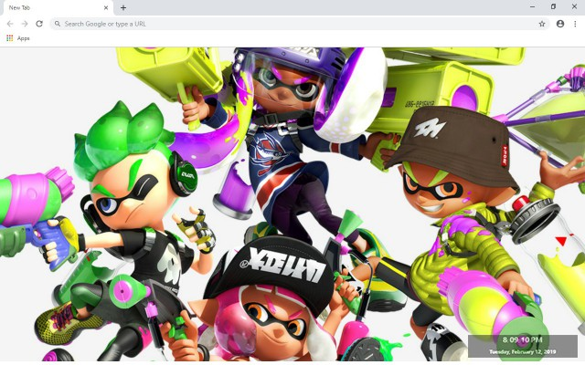 Splatoon 2 New Tab & Wallpapers Collection