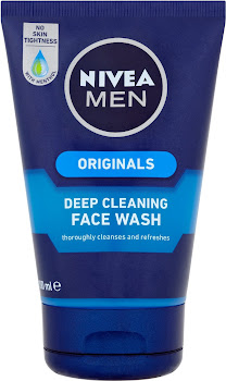 Nivea Men Deep Cleaning Face Wash - Originals, 100ml