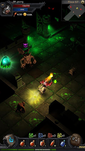 Ever Dungeon : Hunter King - Endless Darkness 1.5.58 screenshots 2
