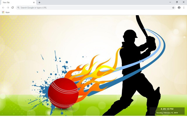 Cricket New Tab & Wallpapers Collection
