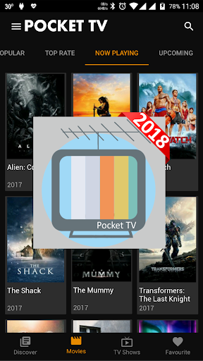 PocketTV - Movie and TV Info 1.0 screenshots 2